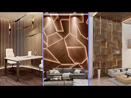 gorgeous wooden wall panel design ideas