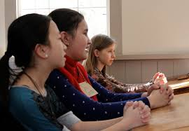 student sitting at desk hands folded.  Sitting And Thereu0027s The Muse In The Back There Oldest Class She And  Dolittle Ate This Up Theyu0027ve Read All Of Little House On Prairie Books  Student Sitting At Desk Hands Folded N