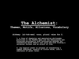 alchemist theme essay