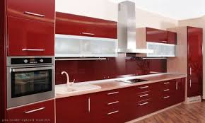 Red White Kitchen White Combination In Red White Kitchen Choose Red White Kitchen