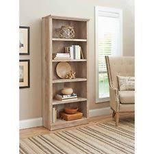 office bookshelf. 5-Shelf Bookcase Home Office Bookshelf Adjustable Shelves Furniture Weathered C