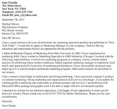 Sample Cover Letter For Unsolicited Position Online Writing Lab