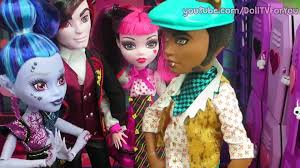 draculaura breaks clawds heart monster high doll series 4 video dailymotion