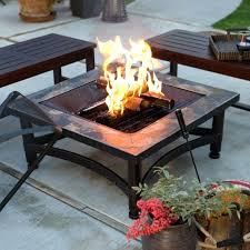 diy propane fire table natural gas fire table portable pit outdoor propane fireplace coffee chairs patio