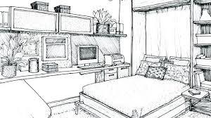 interior design bedroom sketches. Design Drawing Sketch Bedroom Ideas Interior  Perspective Notebook Cover Interior Design Bedroom Sketches