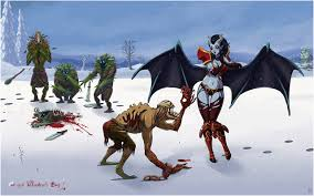 images dota 2 lifestealer queen of pain valentine s day demons