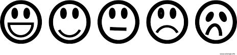 Coloriage Smiley Coloriage Emoticons Lineart Dessin Imprimer