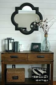 how to decorate entryway table. Entryway Table Decor Ideas Mirror Best Foyer On Console Round How To Decorate R