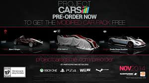 new release car gamesAU New Releases Project Cars Swerves Onto The PS4 Xbox One and