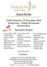 auction track farmlife 24 track it down auction 24 november koedoeskop agri4all