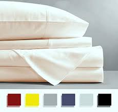 100 egyptian cotton sheets. Beautiful Sheets Mayfair Linen 100 EGYPTIAN COTTON Sheets IVORY TWIN XL Sheets Set 800  THREAD For 100 Egyptian Cotton M