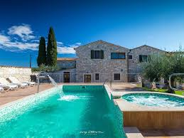 Beautiful Villa With Private Pool And Restaurant Municipality Of Tar Vabriga