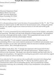 Sample Recommendation Letter For Law School Sample Letter Of ...