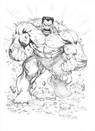 Red Hulk By Fernandomerlo On Deviantart
