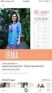 Xl Irma Size Chart Www Bedowntowndaytona Com