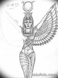 фото тату богиня исида 16032019 143 Isis Tattoo Photo
