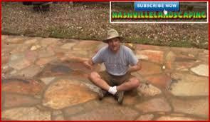 stone patio installation: dalton quigley teaching you how to lay stone