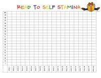 Read To Self Stamina Chart Daily Five Read To Self Daily