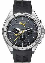 puma forward black and yellow chronograph silicone watch pu104021002 men s puma forward black and yellow chronograph silicone watch pu104021002