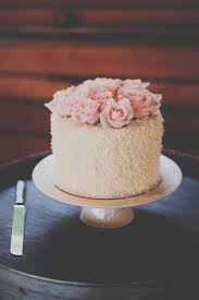 Simple Single Tier White Wedding Cakes Part 2 Small Beautiful