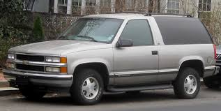 1999 Chevrolet Tahoe - Information and photos - ZombieDrive