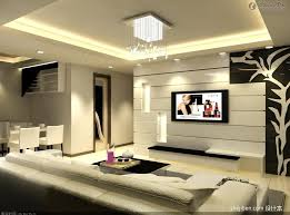 contemporary black and white wall decor ideas for spacious modern living room