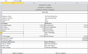 Payroll Free Software Download Excel Payslip Template In Excel