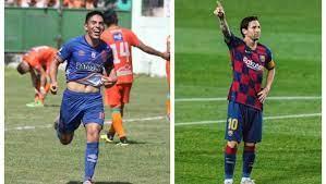 John Méndez de Municipal cumple años junto a Lionel Messi del Barcelona –  Prensa Libre