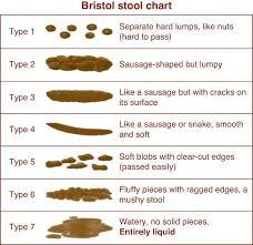 Faeces Bristol Stool Chart