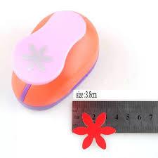 4 Petal Flower Paper Punch 2019 2 2cm 7 3cm Flower Shape Craft Punch Children Manual Diy Hole