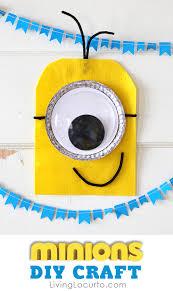 cute minions diy craft fun diy ideas for a minions party or deable me minion