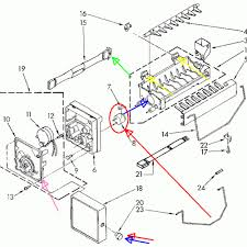 gorgeous frigidaire 5304420651 wiring harness`ice maker `internal kenmore refrigerator wiring diagram at Kenmore Elite Refrigerator Wiring Diagram