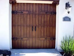 steel garage doors that look like wood post
