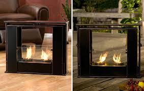 Mini Fireplace  Modern Portable Fireplace By PlanikaPortable Fireplaces
