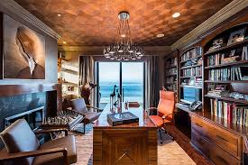 high end home office. View In Gallery Contemporary Home Office With A Touch Of Tropical Charm [Design: DRichards Interiors] High End E