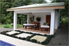open pool house
