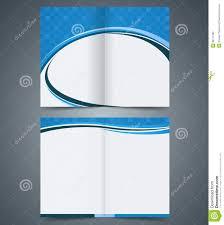 Brochure Template Design Free Bifold Brochure Template Design Business Leaflet Stock