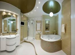 stylish bathroom lighting. wonderful stylish rounded shapes and a futuristic lighting package give this bathroom an  ultramodern appearance recessed mini cans line the arch over vanity follow  to stylish bathroom lighting m