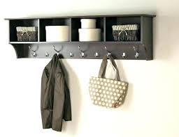 How To Hang A Coat Rack Without Studs Awesome Wall Hung Coat Rack With Shelf Hanging Coat Rack Main Picture Wall