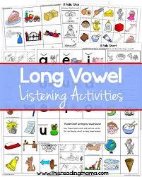 Free Long Vowel Printables This Reading Mama