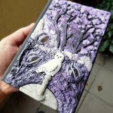 polymer clay book cover google search