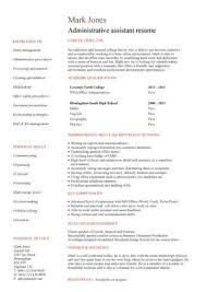Student Cv Template For First Job Student Cv Template Samples Student Jobs Graduate Cv