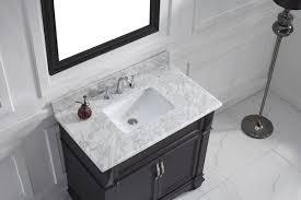 white bathroom vanities with marble tops. Victoria 37\ White Bathroom Vanities With Marble Tops T