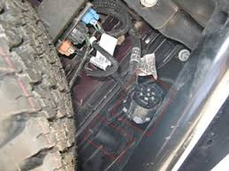brake controller installation for 2007 new body style 2013 gmc the 7 pole factory installed plug has been removed from inside the rear bumper