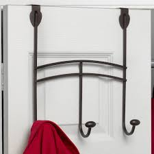 Behind The Door Coat Rack Duchess Over the Door Metal 100Hook Garment Rack Hayneedle 65