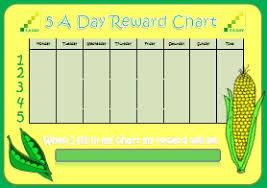 5 Day Reward Chart 5 A Day Reward Chart Kids Puzzles And Games