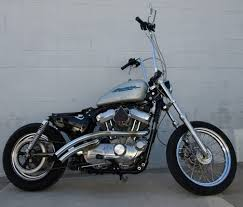 2006 harley sportster bobber 883cc motorcycle with apes by elliott