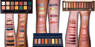 here s what 12 of the best eyeshadow palettes look like on diffe skin tones