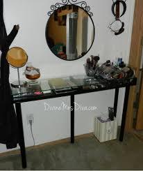 diy vanity table by divinemrsdiva