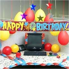Office Cubicle Decoration For Birthday Latestjobs Me